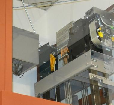 Ascensore MRL elettrico con arcata a sedia AR-Slim